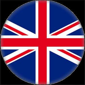 cirkelvorminge Union Jack, vlag van Groot Brittanië